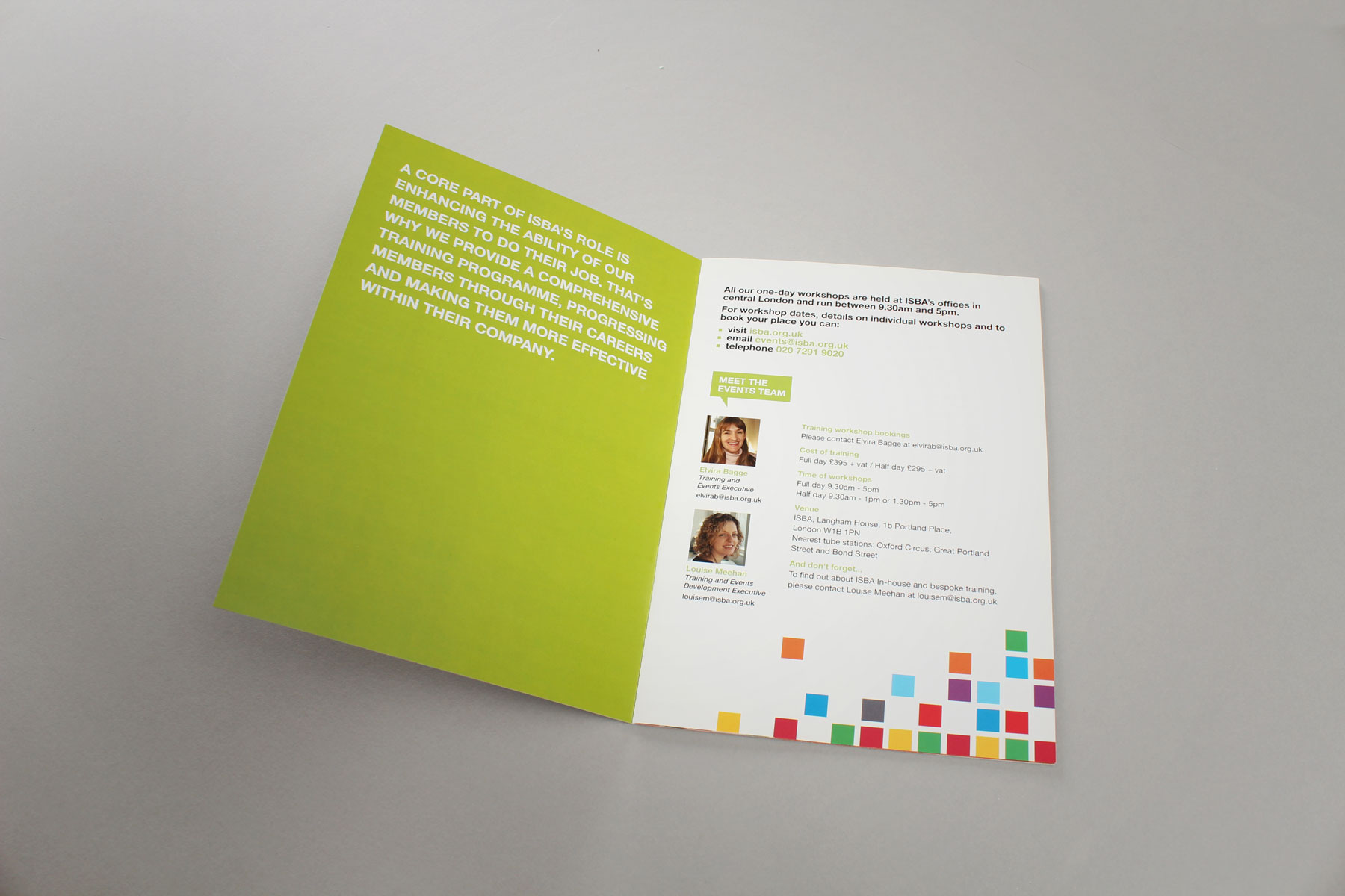 The publications are designed for ease of use and legibility.