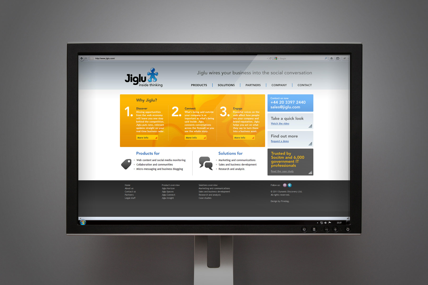 The brand applied harmoniously to the digital environment - complimented by our messaging and iconography toolkit.