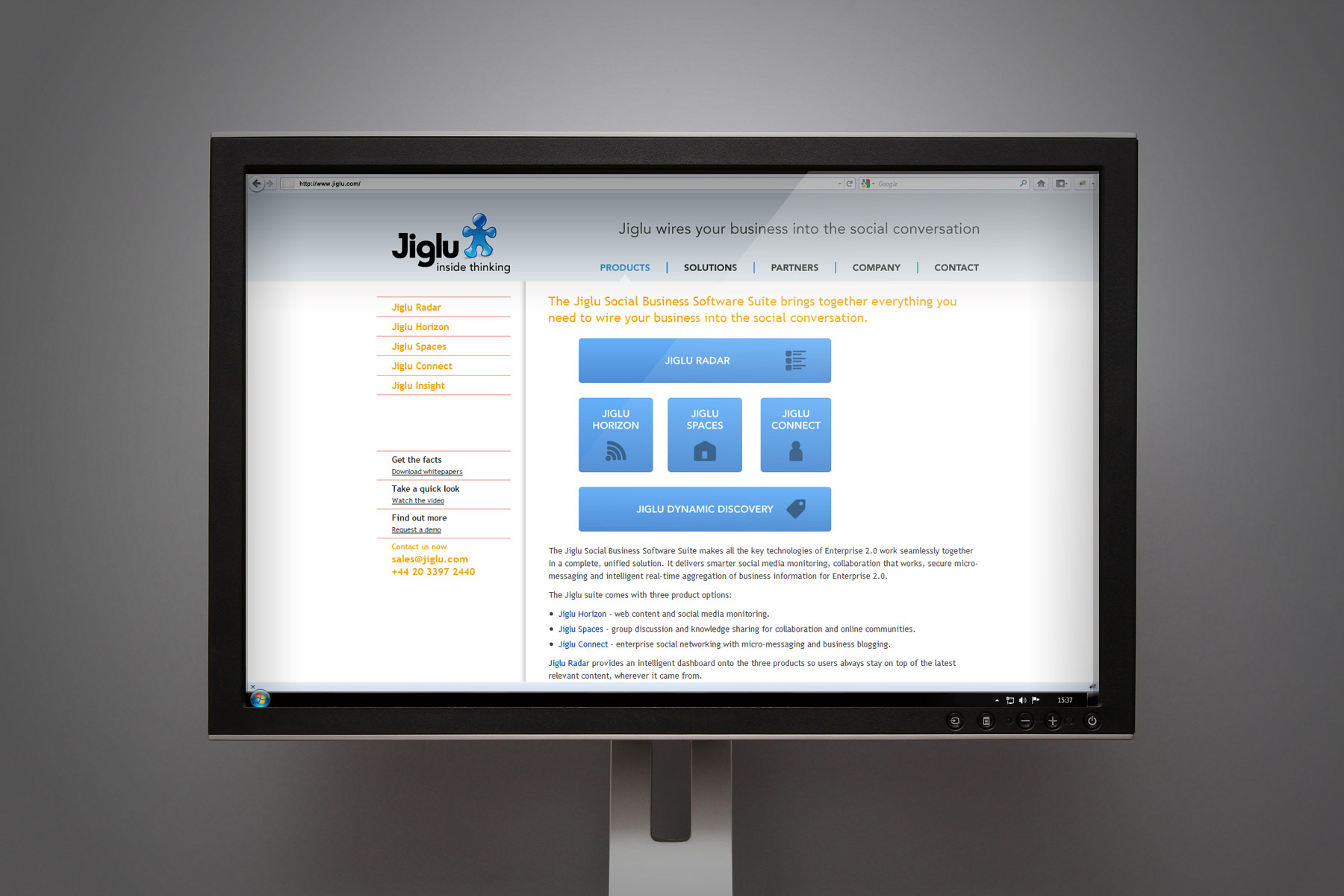 We worked together with the client on providing a web toolkit where we covered off the required visual assets.