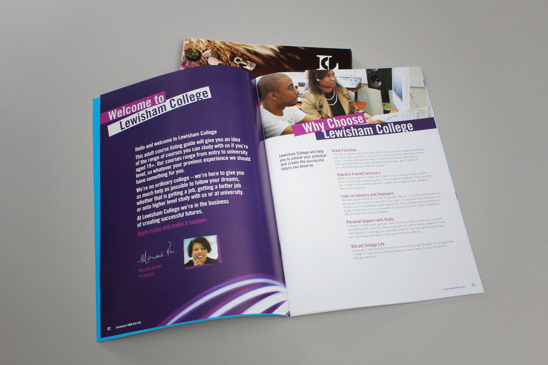 As most of the course publications are over 100 pages, we ensure a dynamic read by providing a number of varied page layouts.