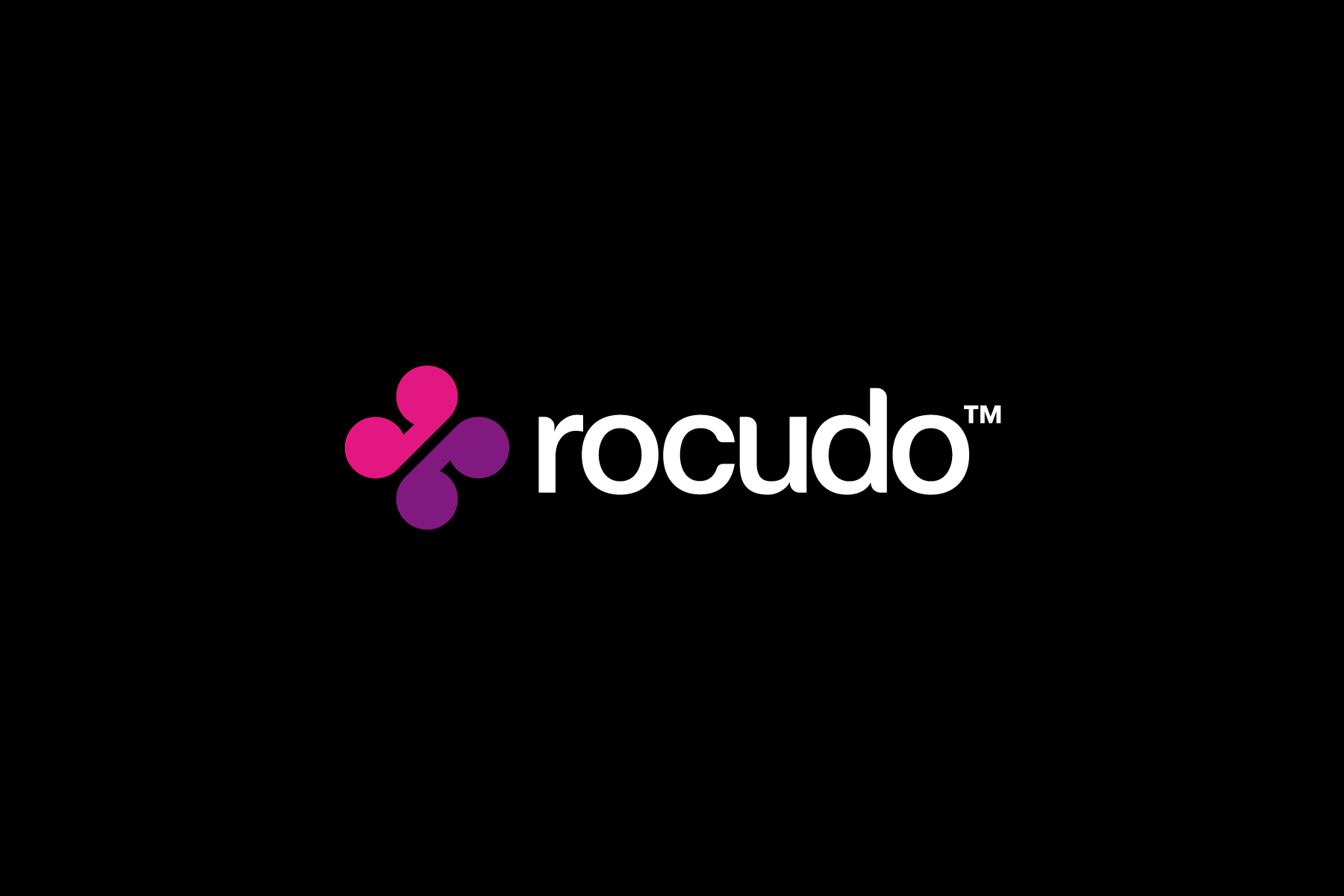 The final chosen symbol for Rocudo is inspired by an old reel to reel device, which hints at the remixing nature of the software platform.
