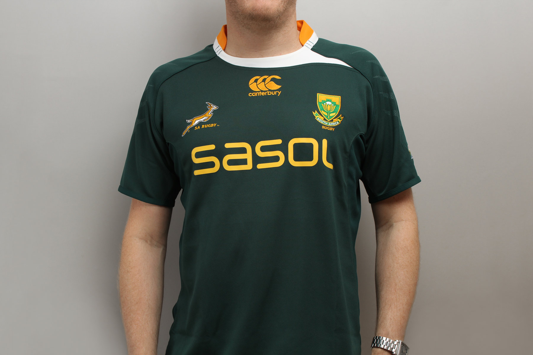 Sasol, although a massive multinational, has its origins in South Africa. Turn the TV channel to any international rugby game and you will see their sponsorship emblazoned across the South African kit.