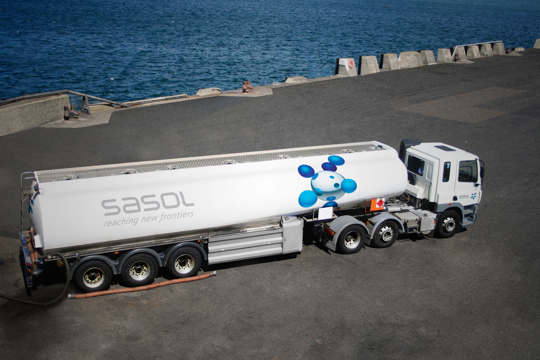 Sasol has a large fleet of all types of vehicles. Guidelines were produced for all shapes and sizes.
