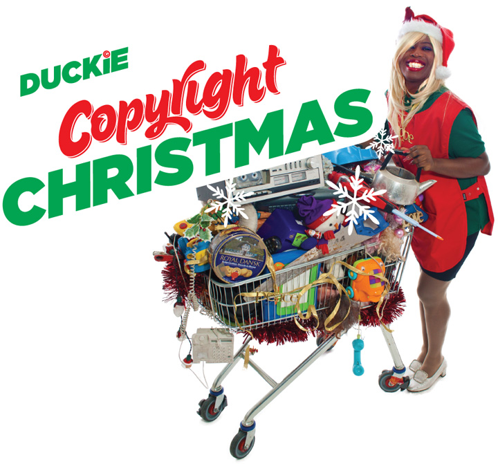 The Duckie Copyright Christmas