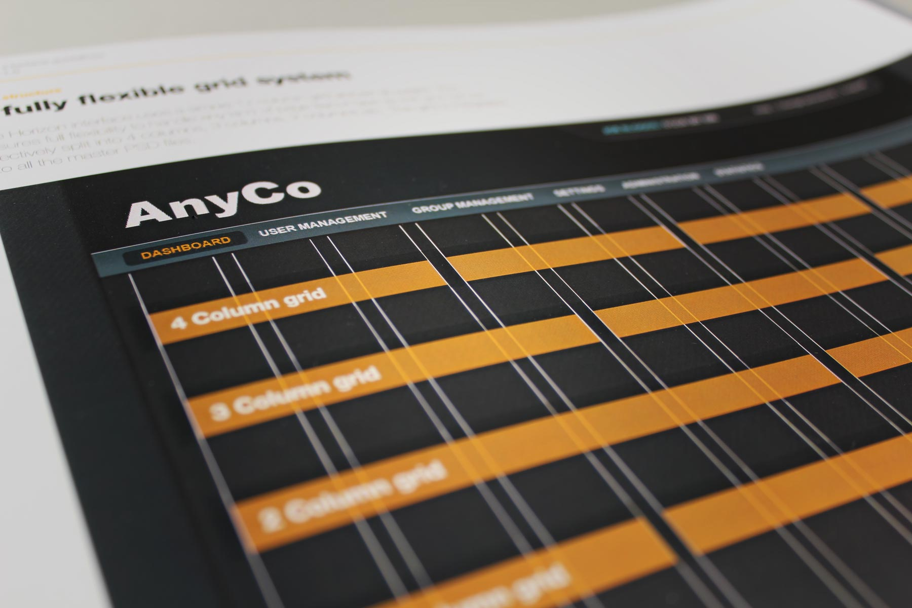 We created a grid based system whereby modules conformed to logical dimensions - Making it easy for the clients development and engineering team to adopt and use the design assets.