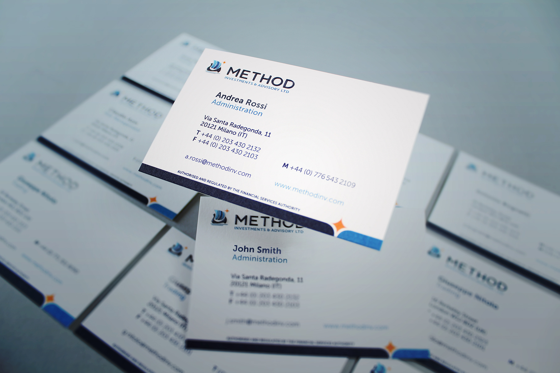 The identity also simplifies into a clean look and feel applied to stationery and corporate correspondence