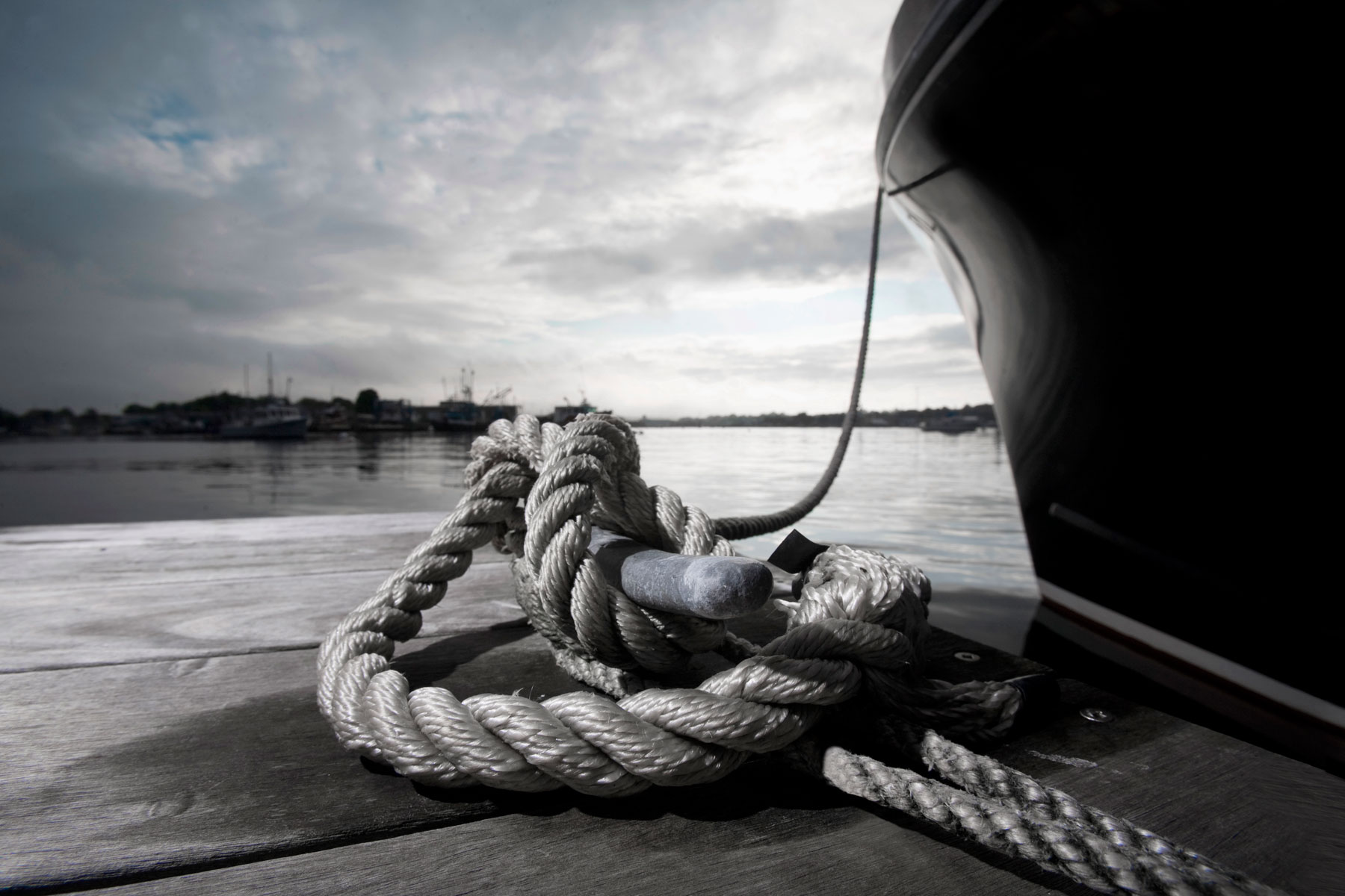 The choice of nautical imagery was carefully controlled to stay away from cliches whilst communicating strength and focus