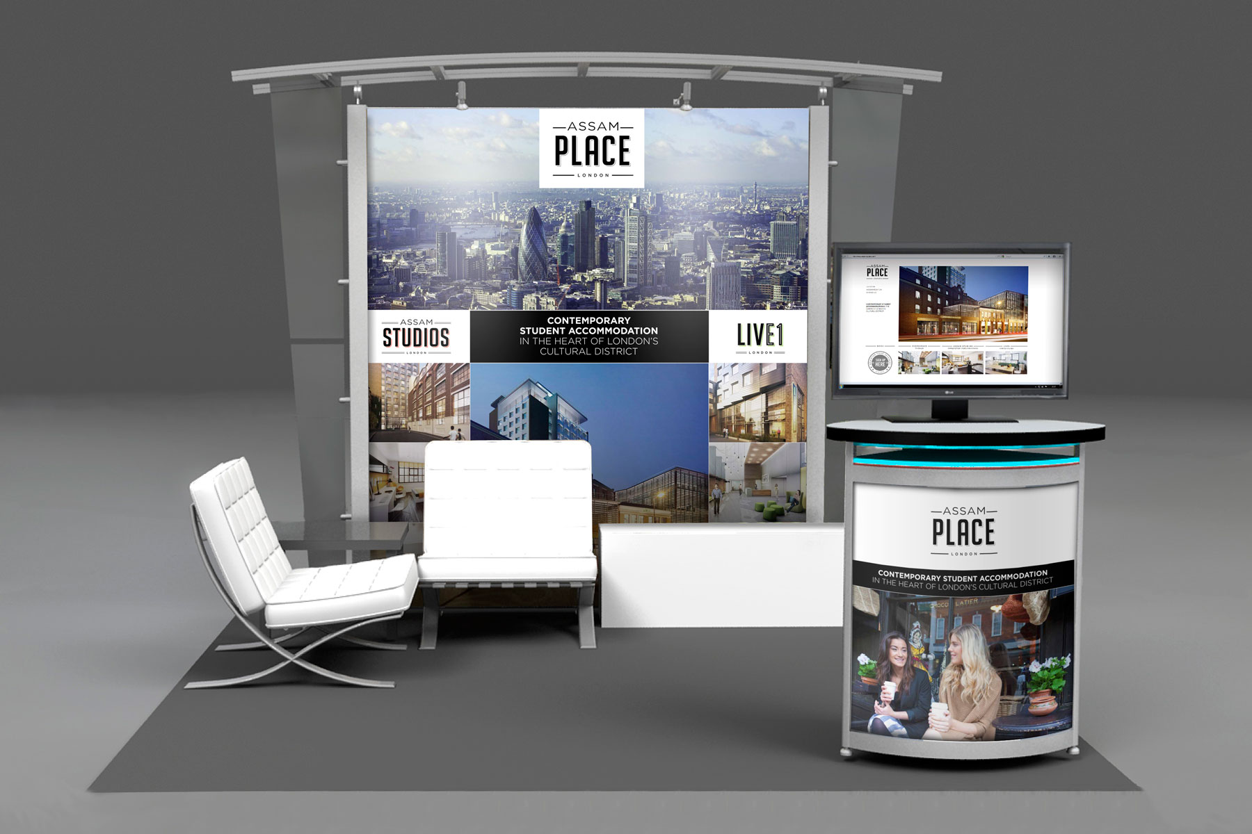 The brand exhibits at a number of shows around the world and we have produced a number of supporting materials.