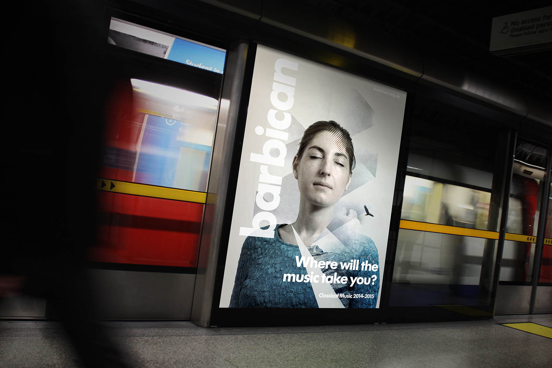 Firedog partnered with the Barbican over a four year period, producing a number of campaigns.