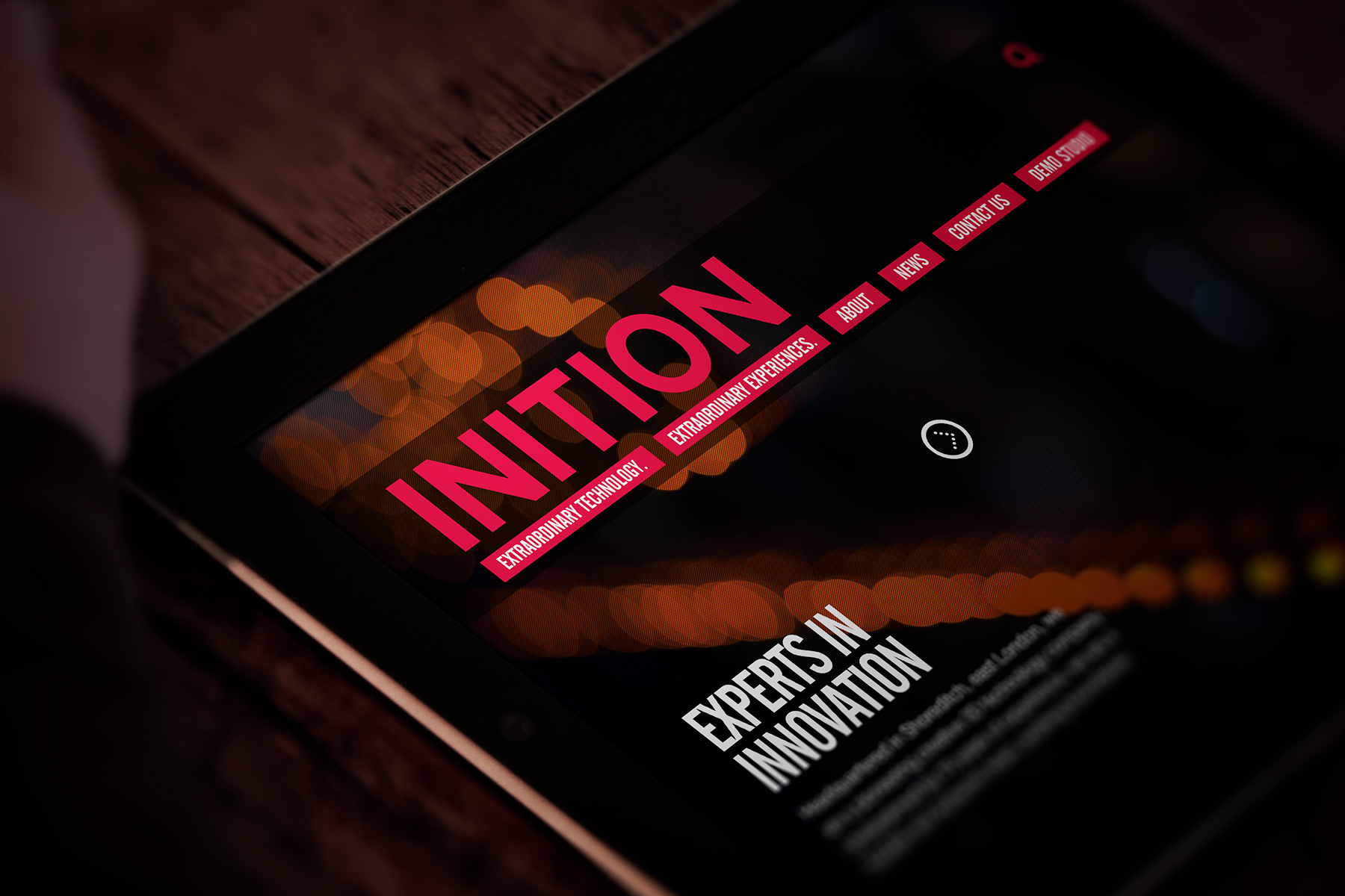 INITION | RESPONSIVE WEBSITE DESIGN AND BUILDRESPONSIVE WEBSITE DESIGN AND BUILDINITIONWebsite redesign for a pioneering interactive production company and emerging technology provider.