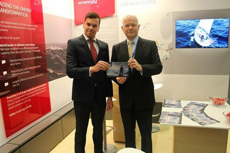 William Hague with our campaign