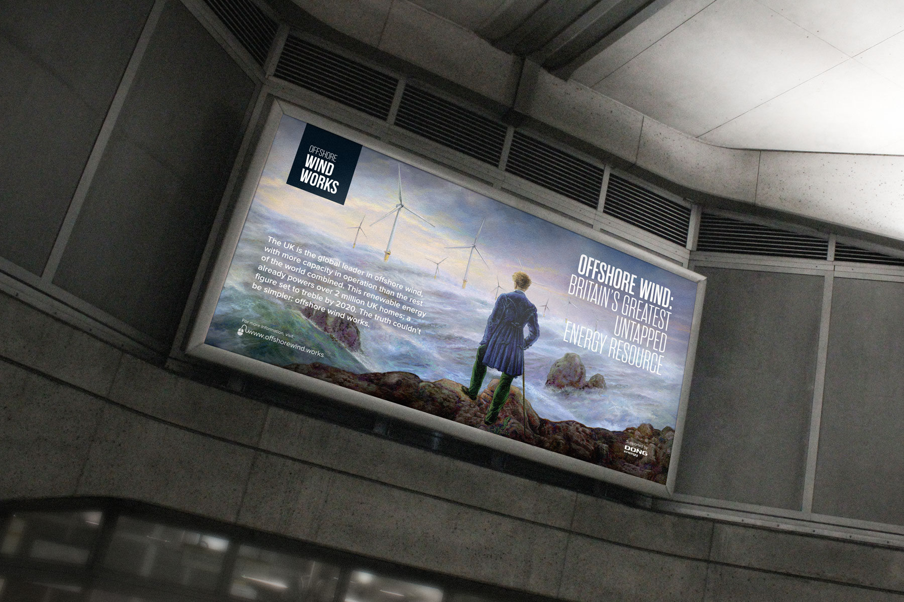 The campaign was displayed in over 230 sites on the London Underground. A special tactical emphasis was placed at Westminster station, with political stakeholders and party conferences in mind.