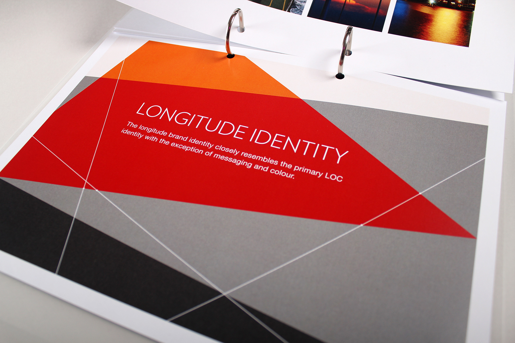 The brand identity was also applied to a sister business, Longitude Engineering, with an adaptation of colour palette and imagery.