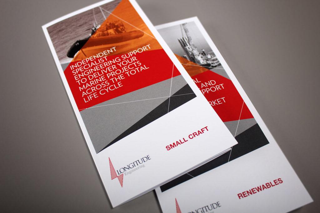 Flyers printed for Longitude Engineering