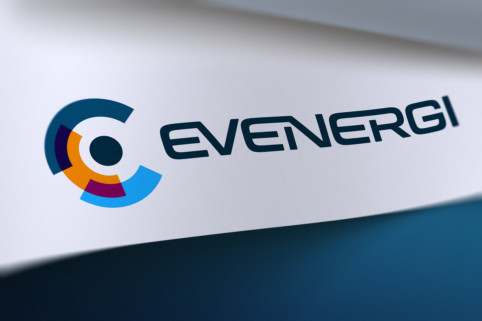The Evenergi renewables brand represents a contemporary next generation automotive identity, built for the future.
