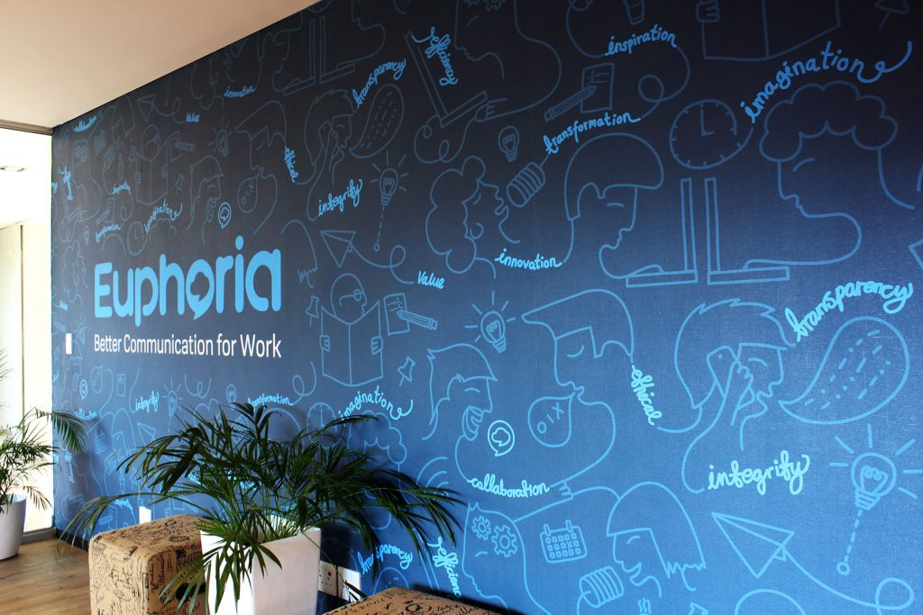 Euphoria environmental graphics