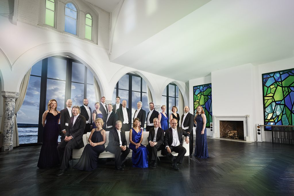 The Sixteen full ensemble